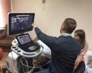 Компанія Philips навчає лікарів Рівненщини роботі на сучасних УЗД сканерах